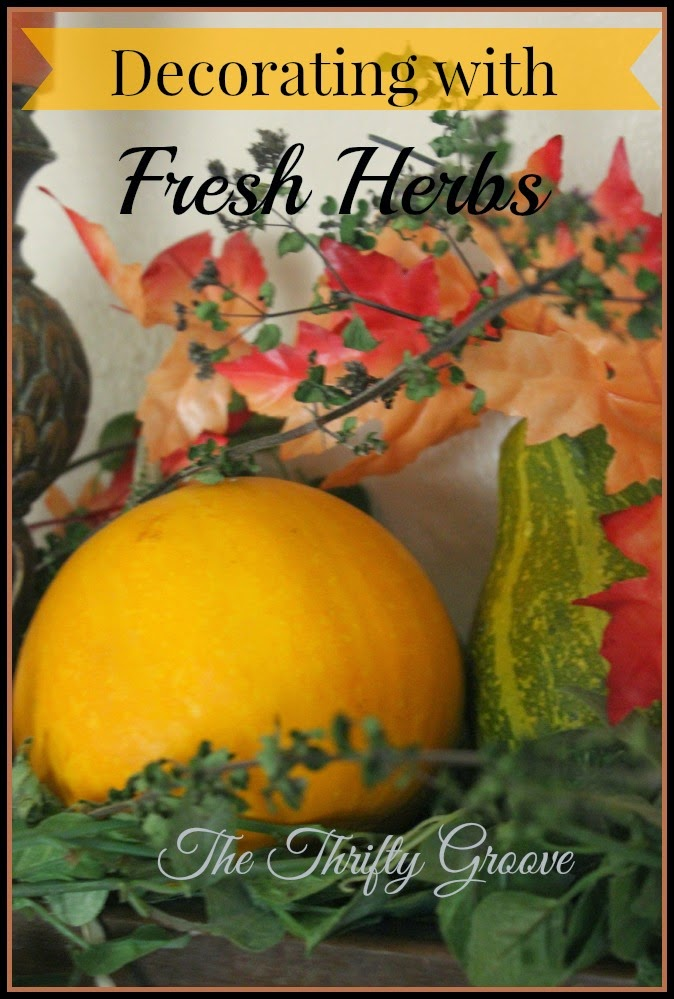 Decorate with Fresh Herbs