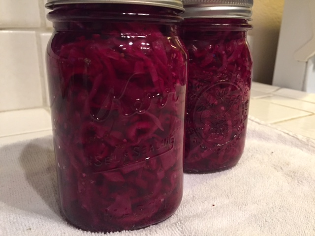 Red Cabbage Relish