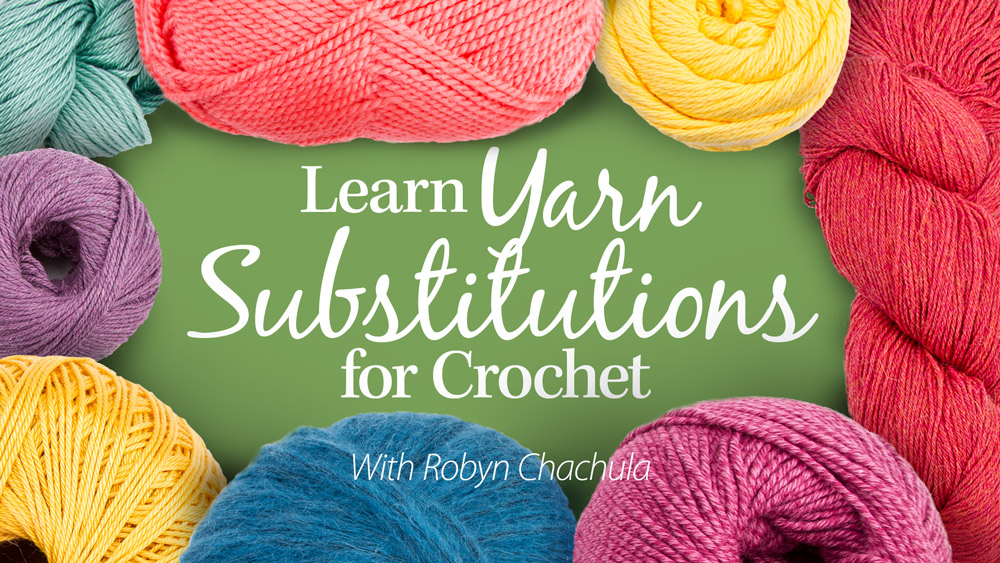 Learn Yarn Substitutions