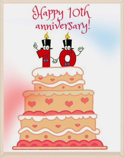 Smile Will Save The Day Happy Anniversary 10th Wedding