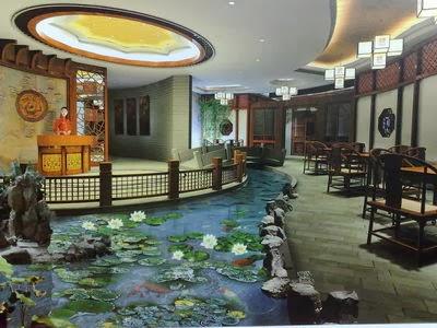 Peces y plantas ornamentales estanques de agua fr a for Plastico para impermeabilizar lagunas