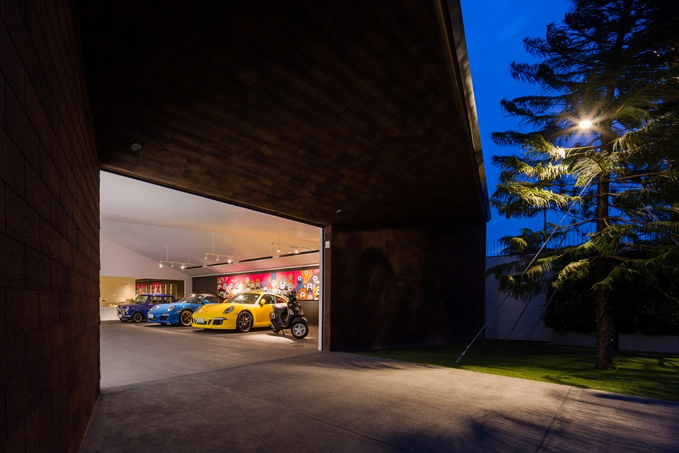 Garage of the bears openbox architects arc art blog by for Piani di casa con garage di ingresso laterale posteriore