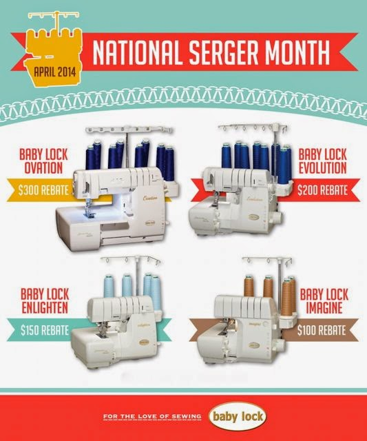 Phil's Sewing Machines BabyLock Rebates Now Available On Ovation Simple Imagine Sewing Machine