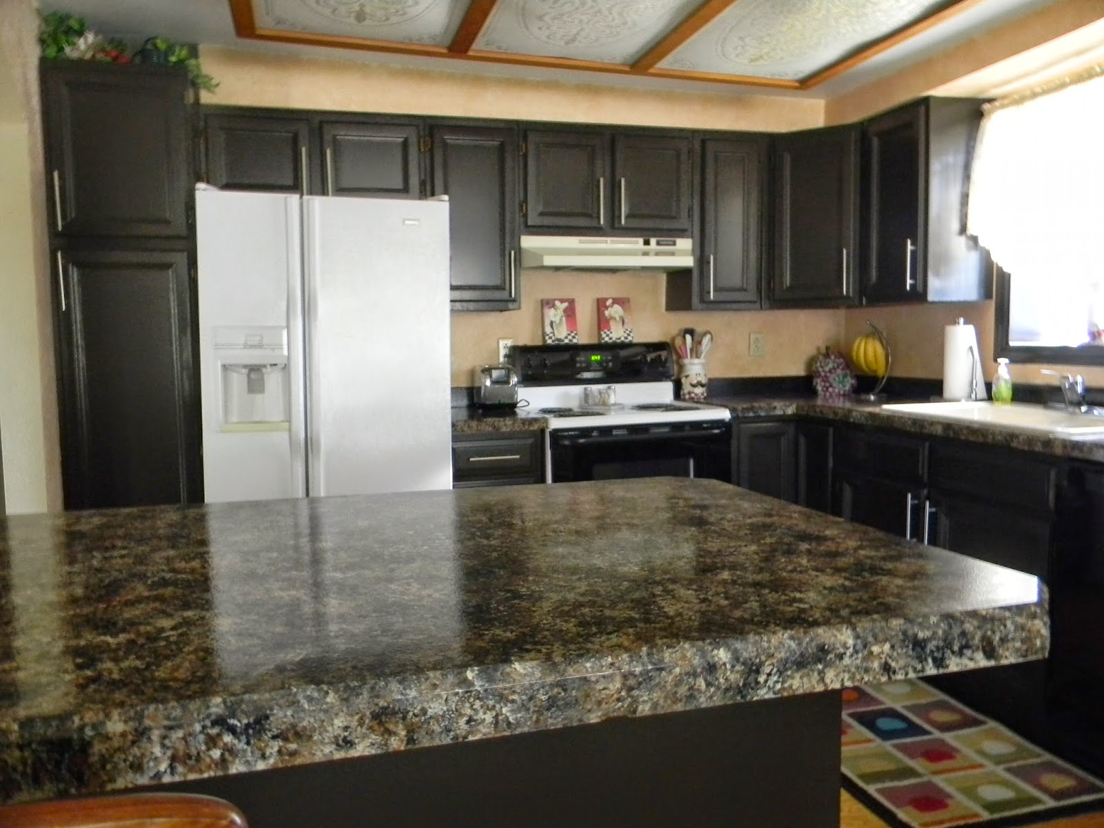 Nuvo Cabinet Paint Reviews Happy Clean Living Kitchen Updated