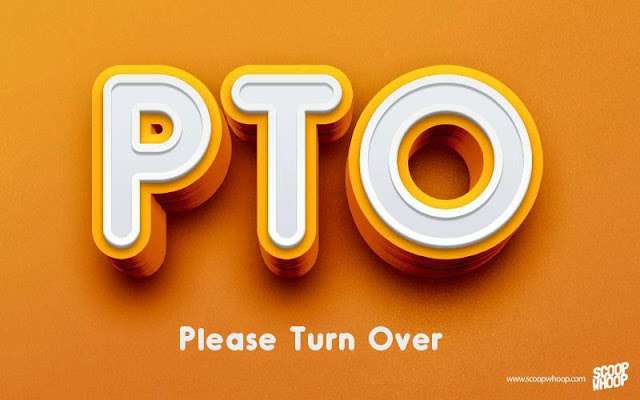 PTO-PLEASE-TURN-OVER