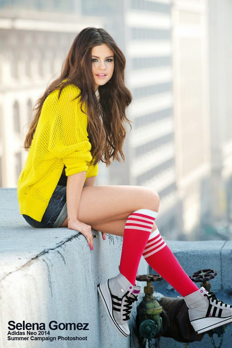 Selena Gomez's Adidas Neo 2014 Summer Campaign Photoshoot