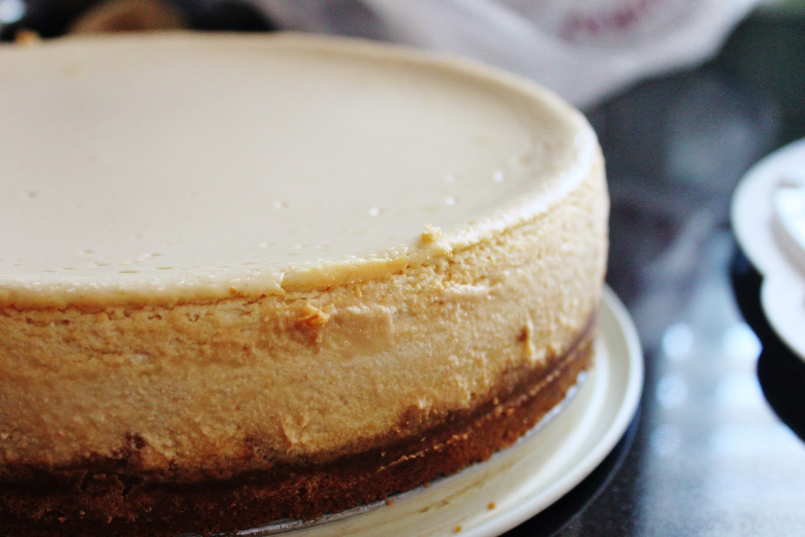 Maple Cheesecake with Gingersnap Crust and Pine Nut Amber | My ...