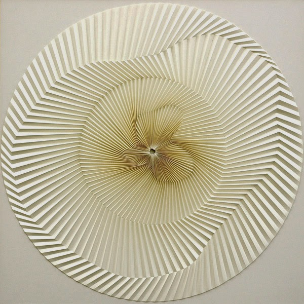 El arte del papel plegado de Yuko Nishimura, Paper Reliefs folded paper