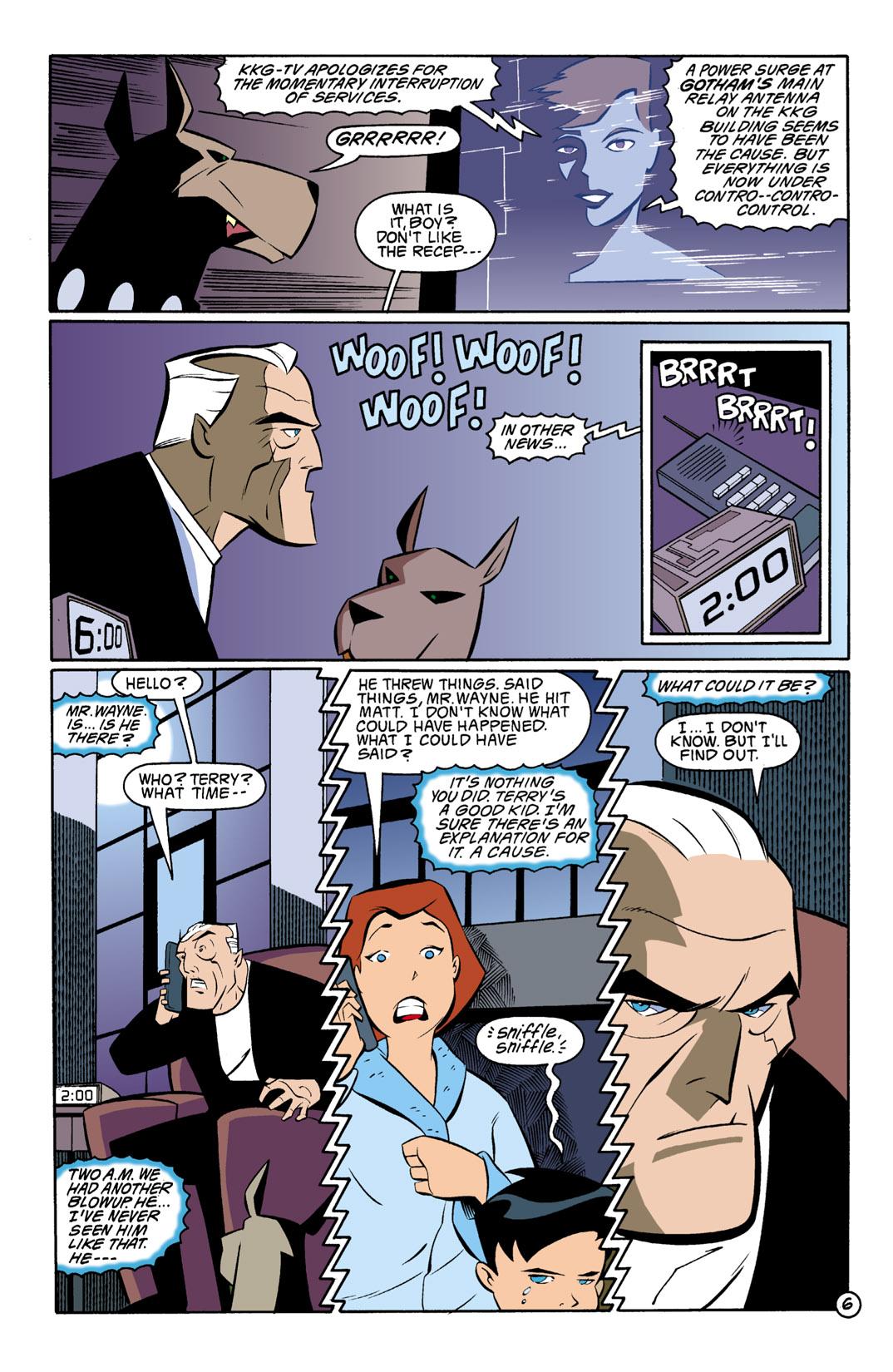 Batman Beyond [II] Issue #1 #1 - English 7