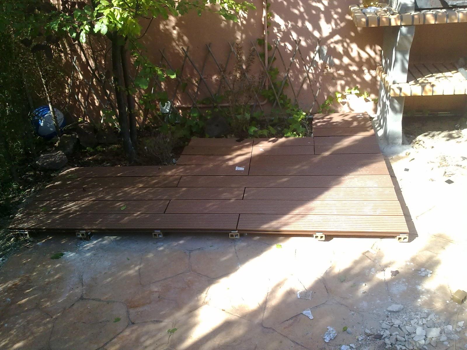 Miguel garcia carpintero suelo de composite en terraza - Poner suelo de madera ...