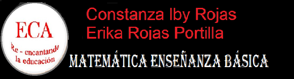 MATEMÁTICA ECA DE ENSEÑANZA BÁSICA