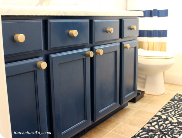 I Am Drooling Over How These Blue Cabinets Turned Out.