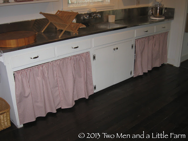 two men and a little farm covering the open kitchen kitchen cabinet cover panels storefront life