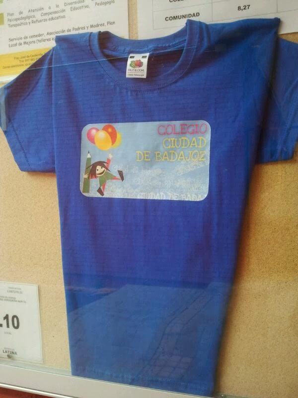 Camiseta del cole