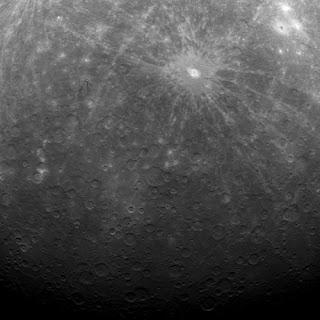 Mercurio desde la Messenger