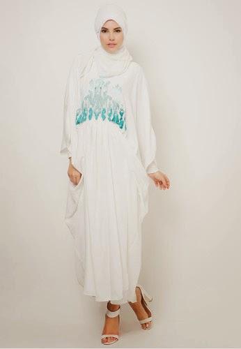 20 Contoh Baju Muslim Kaftan Modern Terbaik Kumpulan