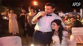 vatif aslam and sara wedding walima and engagement pics