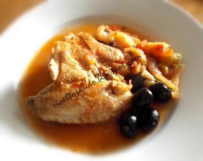 Pollo alla cacciatora ricetta di carni bianche
