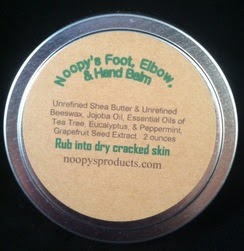 all natural foot, elbow and hand cream