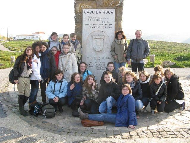 Ekipa Comeniusa w Portugalii