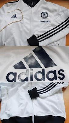 Jaket Chelsea Putih Terbaru