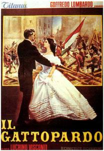 Cartel italiano de El gatopardo