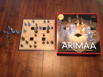 Arimaa board game in play - its like Chess
