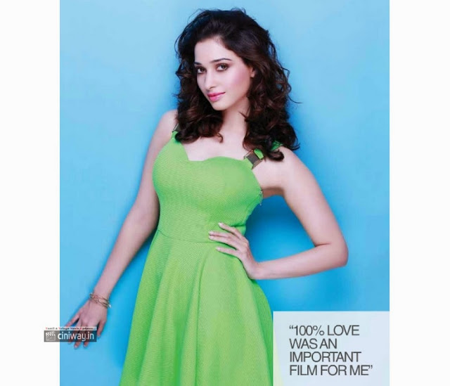 Tamanna Photoshoot for South Scope Magazine