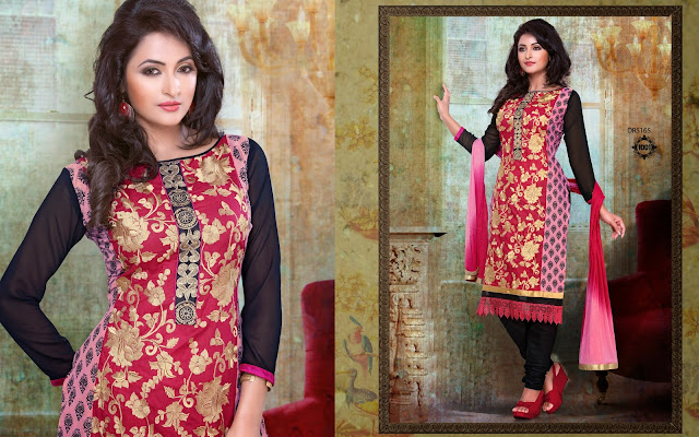 Latest Designer Chanderi Cotton Churidar Salwar Kameez – Wholesale Supplier