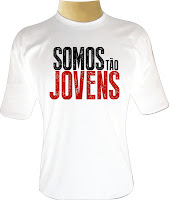 Camiseta Somos Tão Jovens