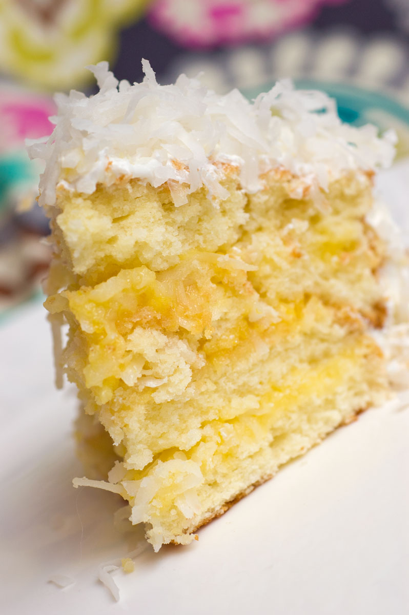 Sugar & Spice by Celeste: Lemon-Coconut Cake...Oh, Baby!