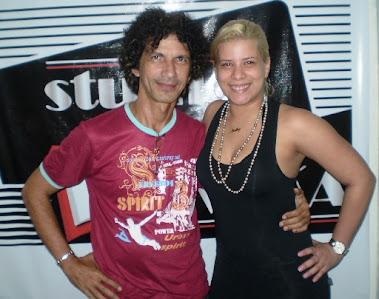 Assis Cavalcanti e Natalia Calazans