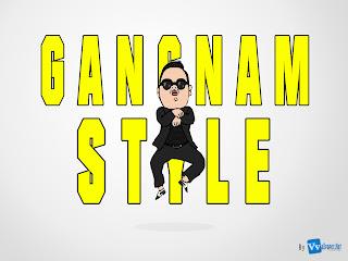 Gangnam Style Minimal HD Wallpaper