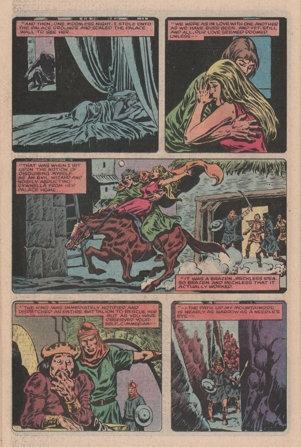 Conan the Barbarian (1970) Issue #157 #169 - English 19