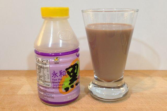 Black Soya Milk, soymilk
