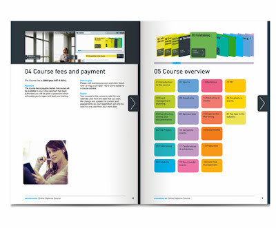 Kelvin hughes design and art direction for Event planning and design courses