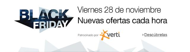 Black Friday 2014 en Amazon.es. Mejores ofertas Flash en electrónica.