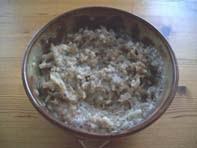 vegan essen in Wien - veganes Hafer-Porridge (veganes Rezept für 1 Person) - Frühstück