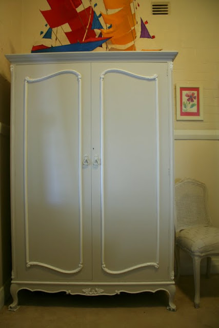 french country painted armoire by Lilyfield Life, Sydney