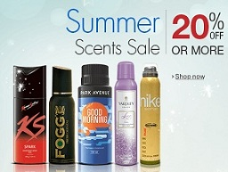 Summer Scent Sale: Flat 20% Off or more on Deodorants @ Amazon
