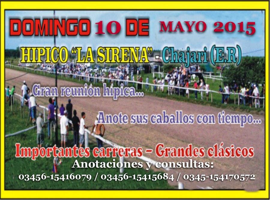 CHAJARÍ 10-05