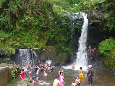 Pemandian Air Panas Guci Kabupaten Tegal