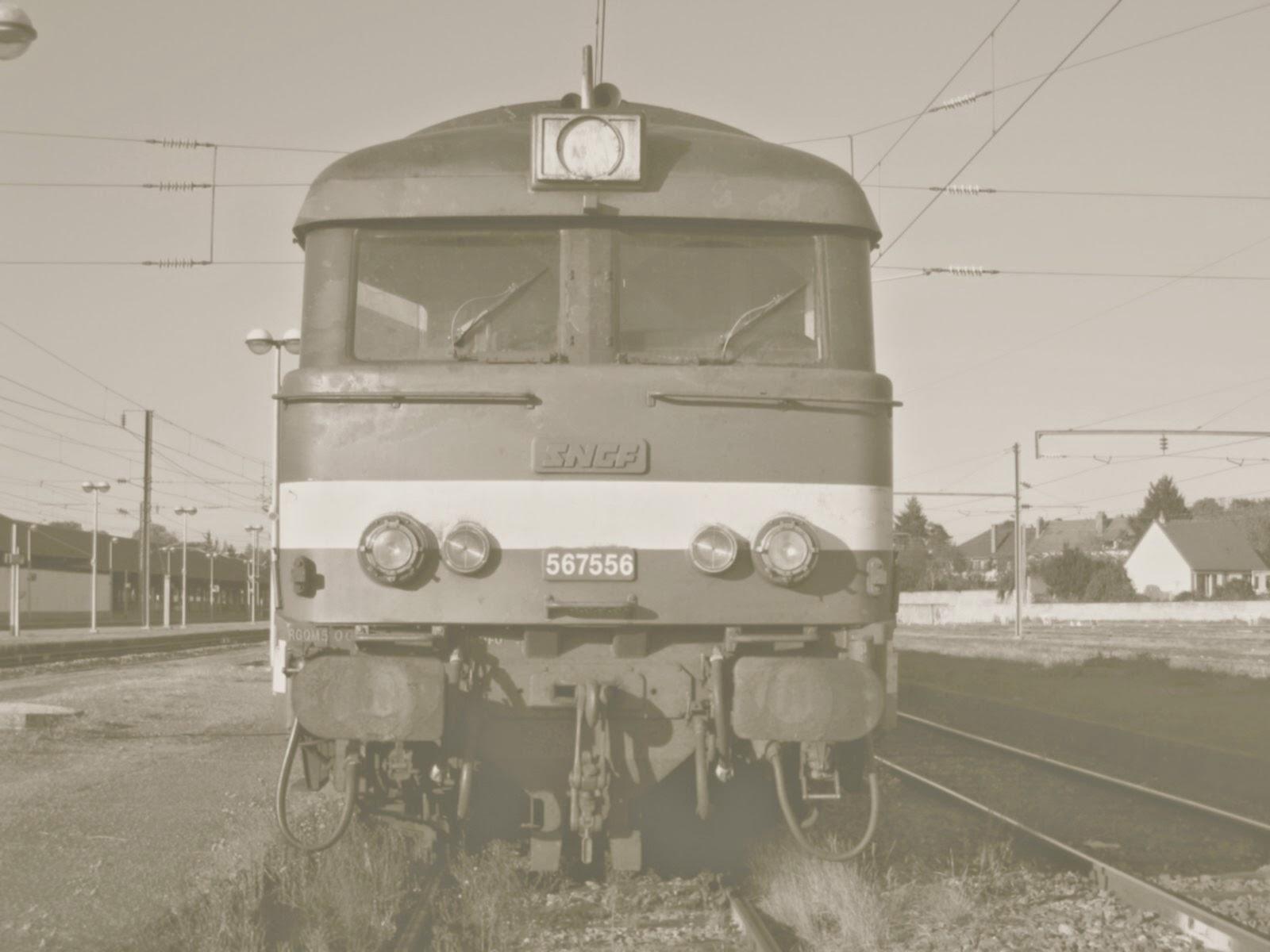 Les passionnés du train