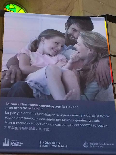 Poster   La Sagrada Familia   Chichi Mary Blog