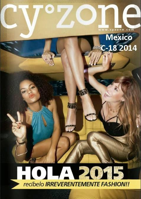 Catalogo Cyzone Campaña 18 2014 Mexico