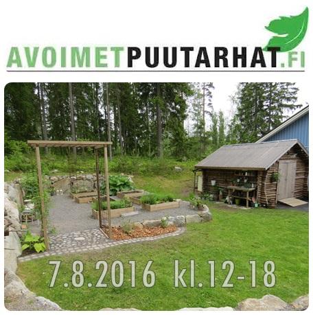 Öppna trädgårdar Finland