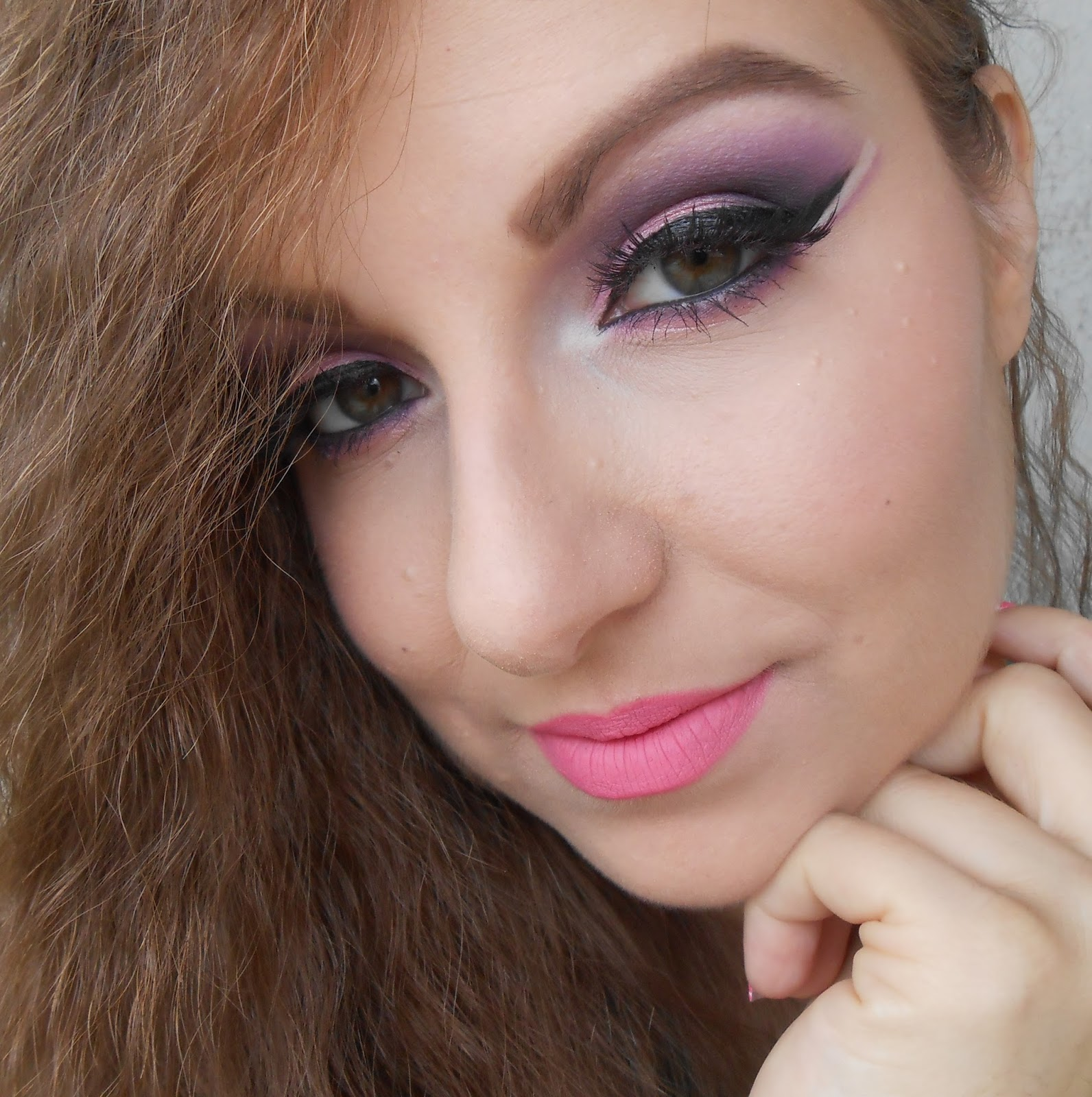 Pinktober: Wearing Pink Makeup and Nails - Beauty of the suns