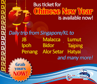 Chinese new year coach ticket