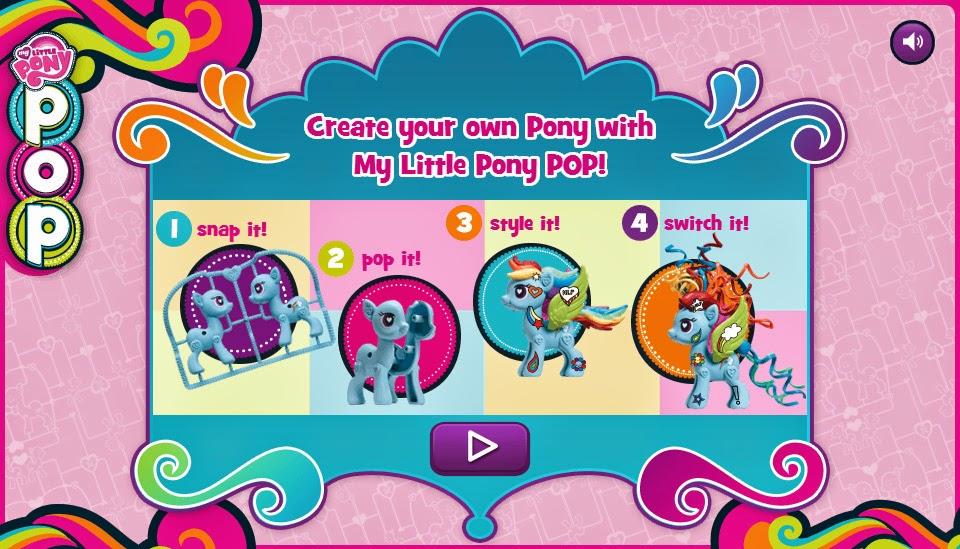 hasbro my little pony games