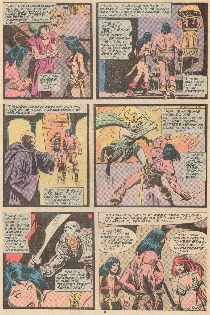 Conan the Barbarian (1970) Issue #67 #79 - English 5